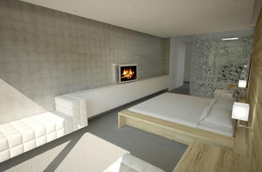 Wettbewerb hotelzimmer umbau innenarchitektur punkt s for Hotelzimmer design