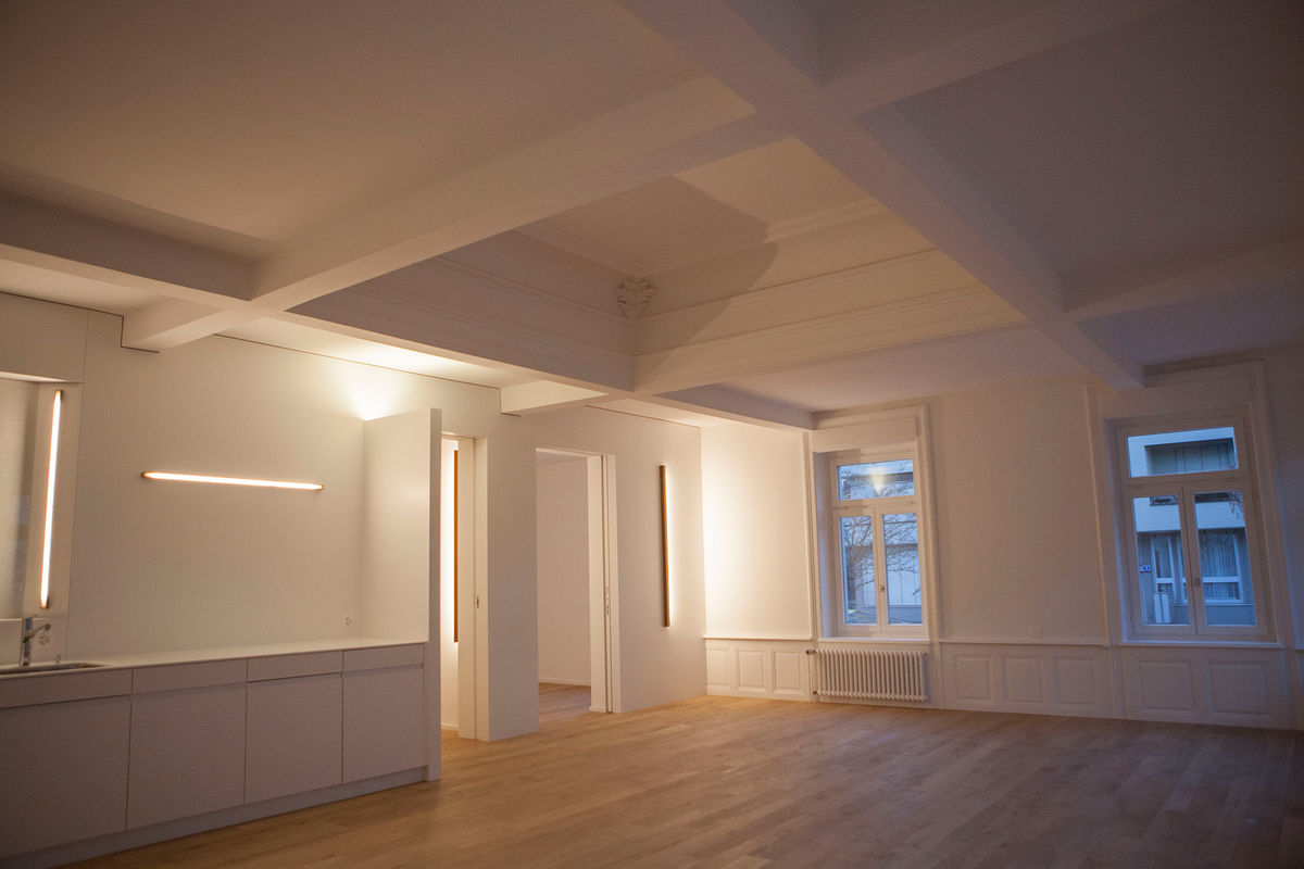 Umbau historisches Gebäude | Innenarchitektur punkt-s